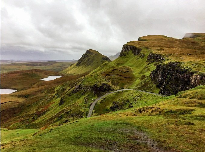 Scotland North Coast 500 Itinerary -Quiraing, Isle of Skye