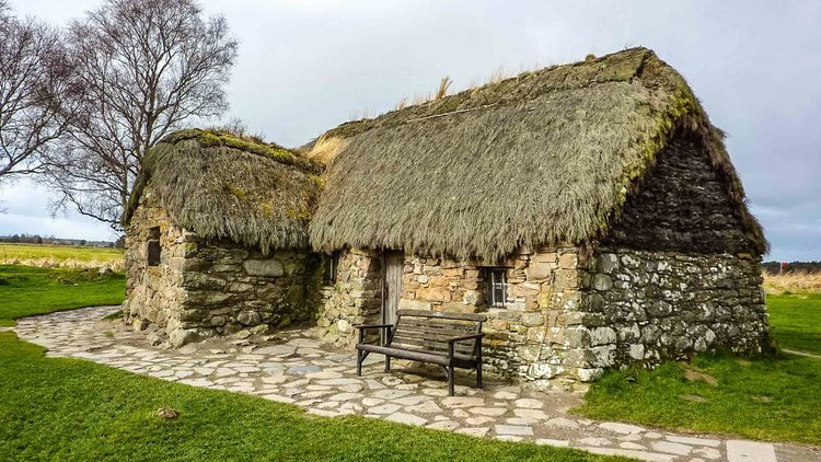 Blackhouse on Culloden Moor - Culloden Visitor Centre